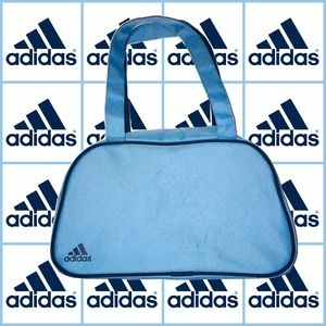 ADIDAS Light Blue Travel Makeup Gym Bag